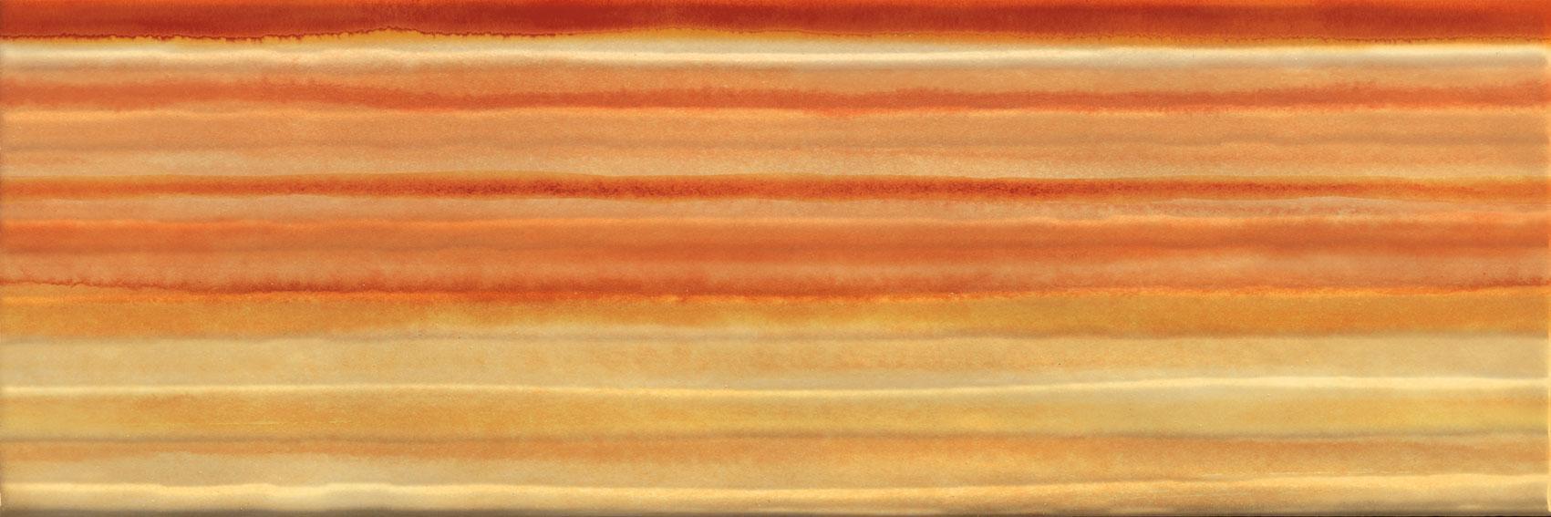 Dec. righe 20x60 Giallo / Arancio