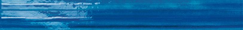 Listello righe 4x60 azzurro / blu
