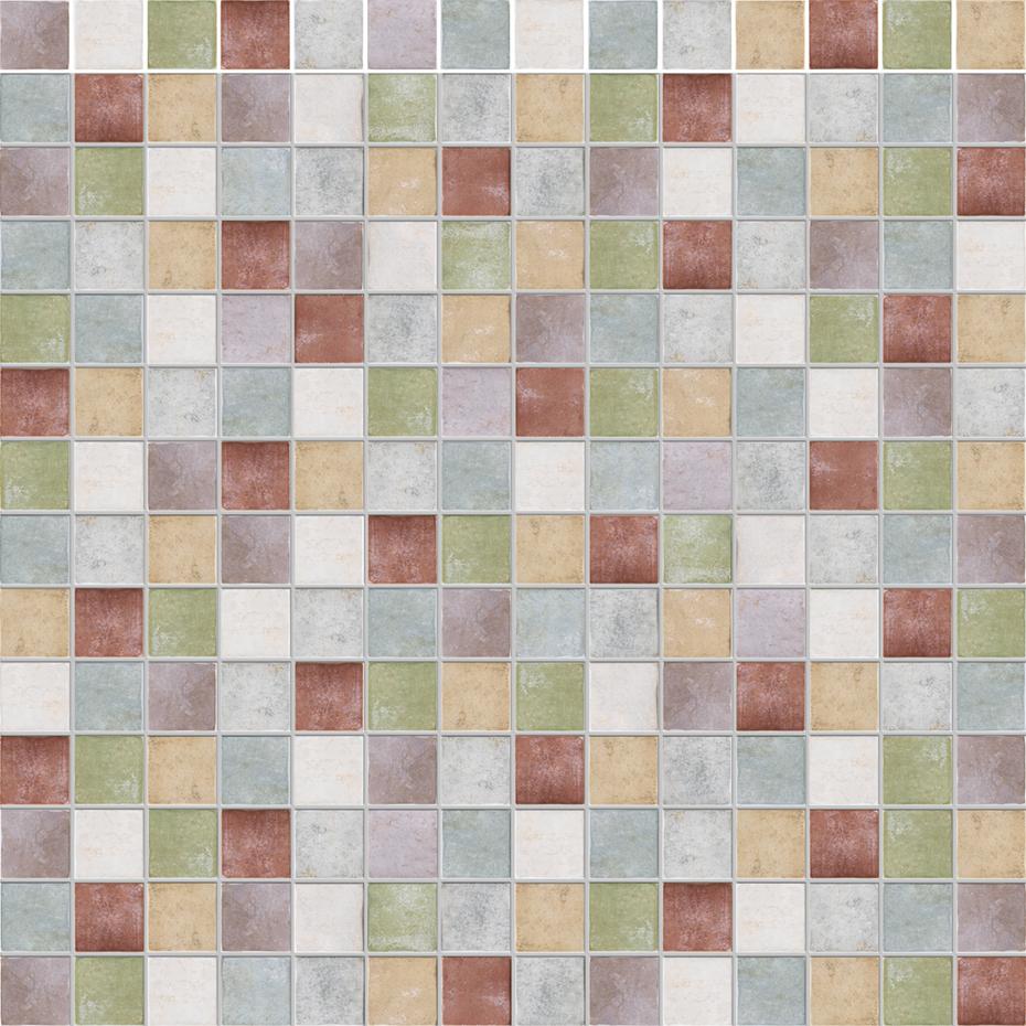 Mix p. volta 7 colori 10x10