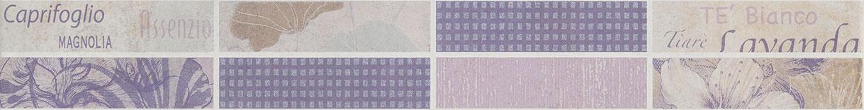 Listello petali 6,5x50 viola