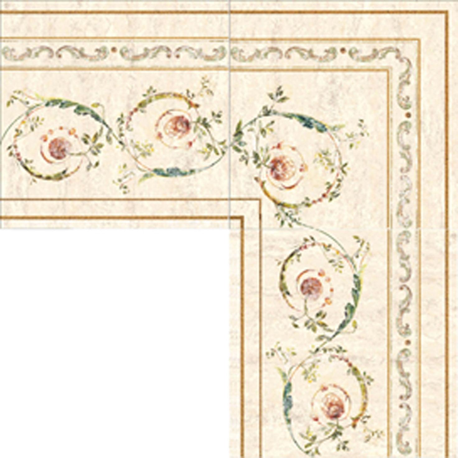 Affreschi Corte - Fascia 20x20, Ang. 20x20