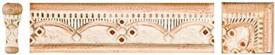 Listello rocca F fortezza/feudo 5,5x20 - girosp. 5,5x5,5 - ang. 2x5,5