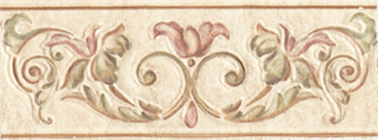 Listello Affreschi 8x20